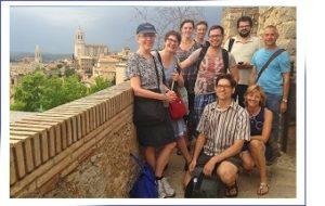 Group photo in Girona