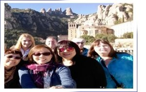Our guests taking a selfie in Montserrat