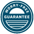 Worry Free Guarantee Seal